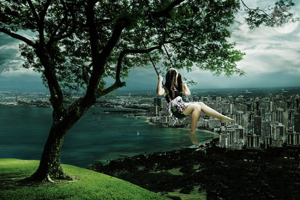 In My Tree – Conceptual Photography by Jimmy Bui