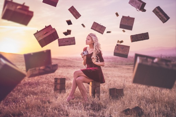 When I'm Away – Conceptual Photography by Jimmy Bui