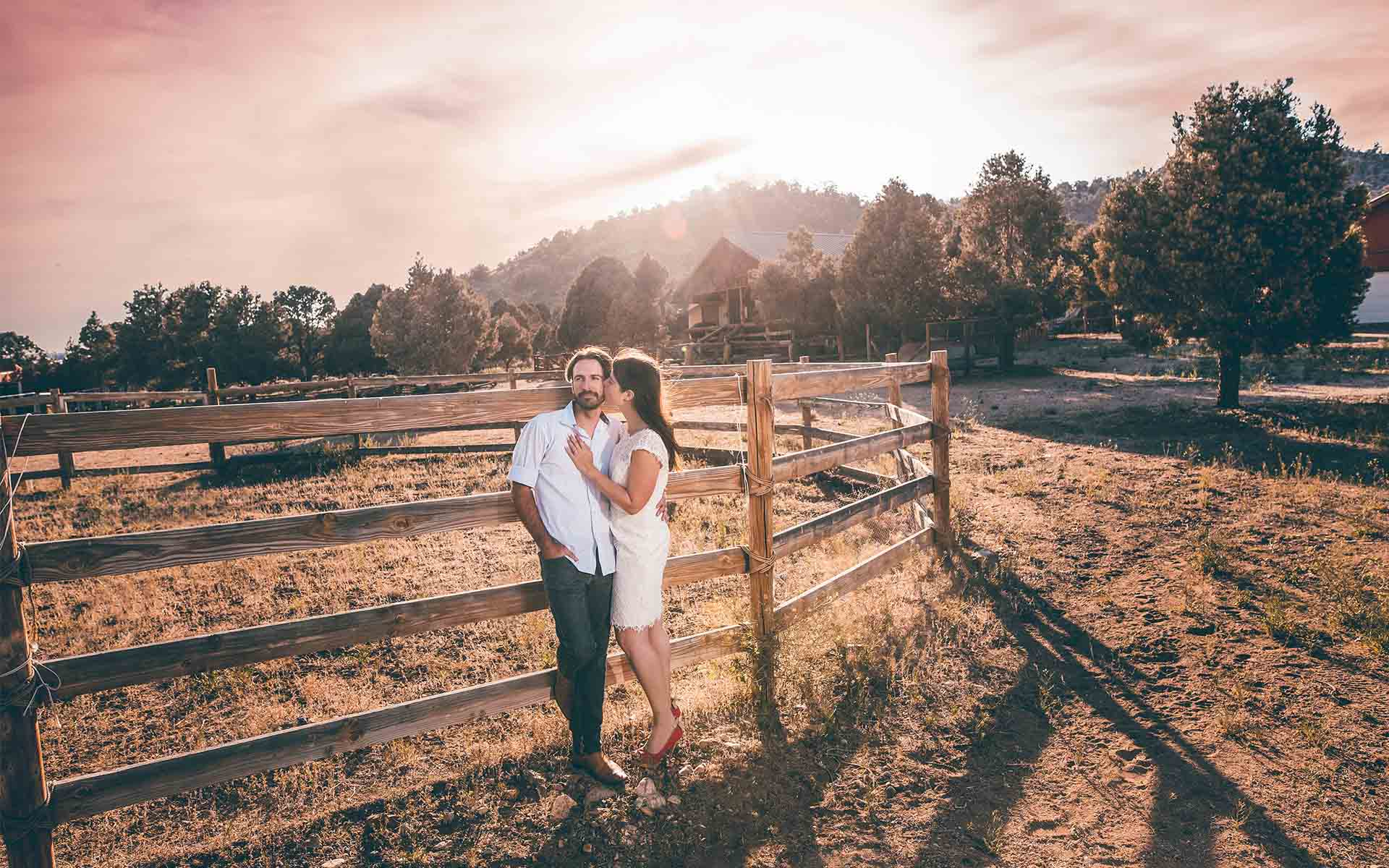 big bear ranch engagement session in california by jimmy bui photography